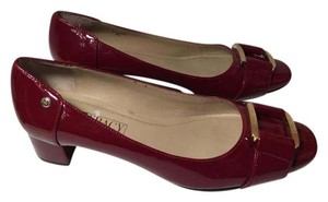 Ellen Tracy Ruby Red Pumps