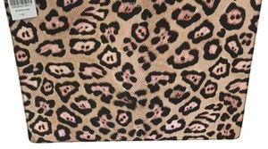 Givenchy jaguar print in tan, pink and black Clutch
