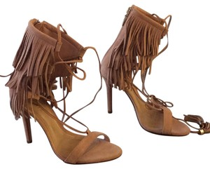 SCHUTZ sunkissed suede Sandals