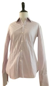 Ralph Lauren Dress Shirt Button Down Shirt Pink stripes