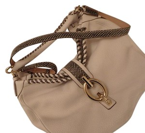 Diane von Furstenberg Leather Detail Hobo Bag