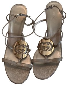 Gucci Champagne Gold color Sandals