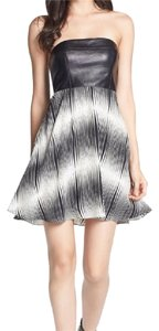 Alice & Trixie short dress Black and White/Cream on Tradesy