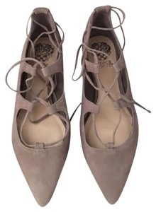 Vince Camuto Taupe Flats