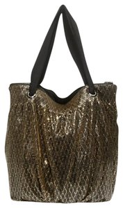 J.Crew Tote in black/gold