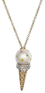 Kate Spade KATE-SPADE-12K-Gold-Carnival-Nights-Ice-Cream-Pendant-Necklace
