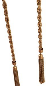 Other long tassel necklace
