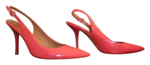 Coach Slingback Salmon Pumps