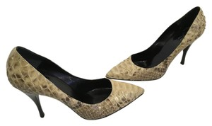 Rodo Lining Soles Made Italy Tan and brown genuine snakeskin rest of shoes leather Italian E37 Pumps