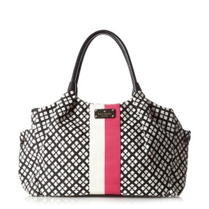 Kate Spade Black/Cream Diaper Bag