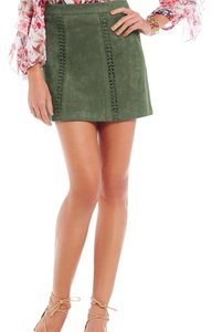 Gianni Bini Mini Skirt moss