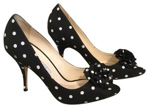 Brian Atwood Black and white Pumps