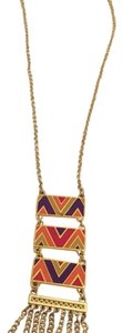 Foxy long statement necklace