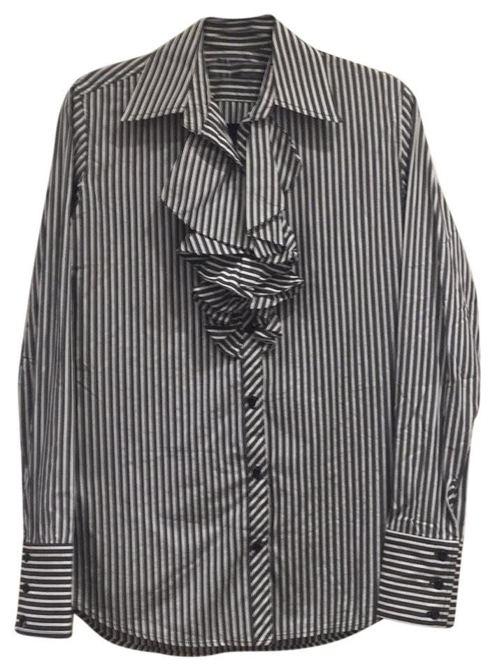 4ceda560 ivy intermix Button Down Shirt striped Image 0 ...