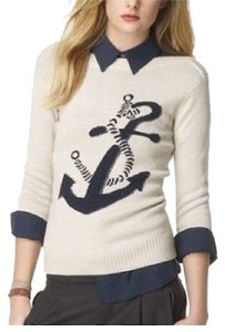 Club Monaco Resort Spring Anchor Sweater