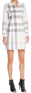 Burberry short dress Natural Brit on Tradesy