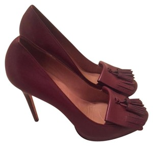Ann Taylor Burgundy Pumps