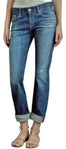 AG Adriano Goldschmied Tomboy Boyfriend Cut Jeans-Distressed