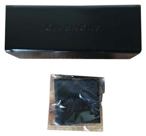 Givenchy Givenchy Brown Leather Sunglass Case