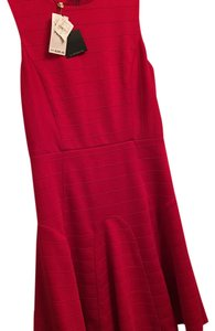 4.collective short dress Red on Tradesy