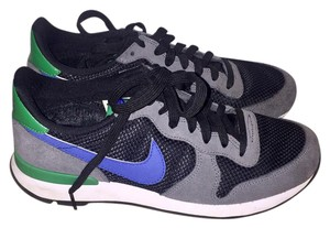 Nike black, grey, green and blue Athletic