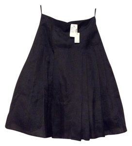 Pauw Amsterdam Tulle Silk Fitted Bodice Full Skirt Black