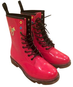Coogi Red Boots
