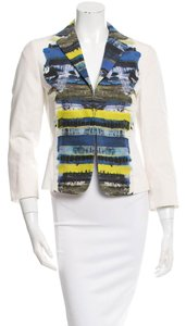 Akris White and multi-color Blazer