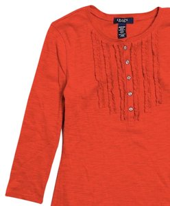 Chaps T Shirt Red