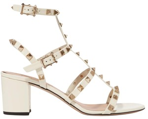 Valentino Rockstud Pumps Rockstud Pumps Rockstud White Sandals