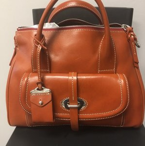 Dooney & Bourke Florentine Satchel in Ginger