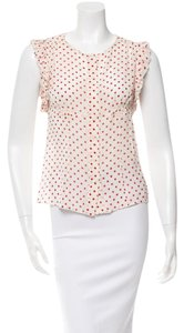 Prada Top Polka-dot