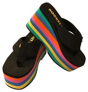 Rocket Dog black/multi Sandals