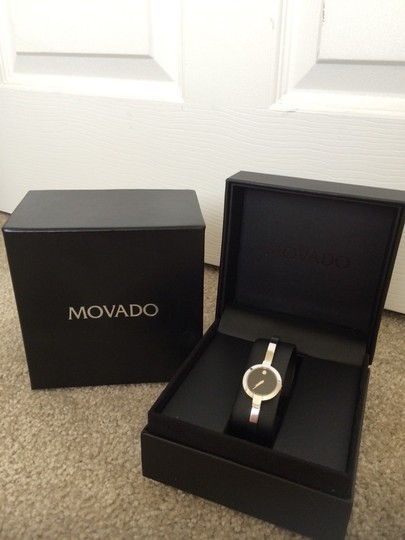 Movado Movado Bangle Bracelet Sapphire Crystal Watch