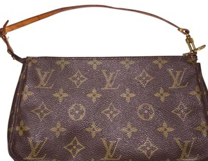 Louis Vuitton Wristlet in brown and tan