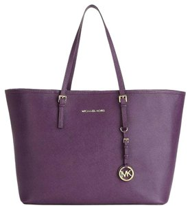 Michael Kors Tote in Purple Iris