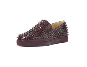 Christian Louboutin Louboutin Rollerboat Louboutin Slipon Chanel Dior burgundy/rogue Athletic