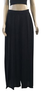 Céline Wide Leg Pants Black