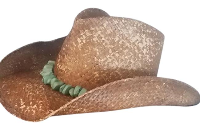 Item - Cowboy with Turquoise Beads Hat