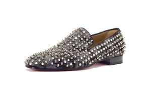 Christian Louboutin Loafers Dandelion Chanel Gucci Grey Black Camo Flats