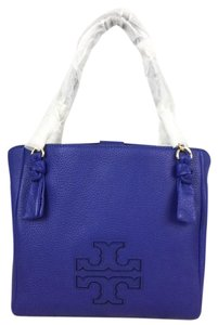 Tory Burch Leather Satchel in Macaw