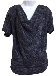G.U.S.B. Collection Drape Top Blue