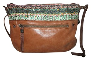 The Sak Leather Cross Body Bag