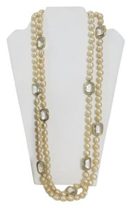"Chanel Chanel Baroque Pearl Sautoir Necklace Measures: 65"" long"