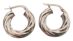 Other 14kt white gold hoops
