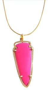 Kendra Scott Magenta skylar necklace
