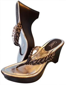 Carlos by Carlos Santana Braided Secret Black & Silver Mules