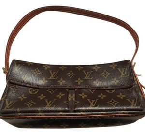 Louis Vuitton Lv Viva Mm Canvas Shoulder Bag
