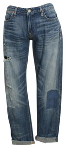 Polo Ralph Lauren Boyfriend Cut Jeans-Distressed