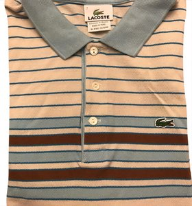 Lacoste T Shirt Stripes